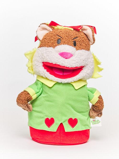 Harriet the Hostile Hamster™ Puppet