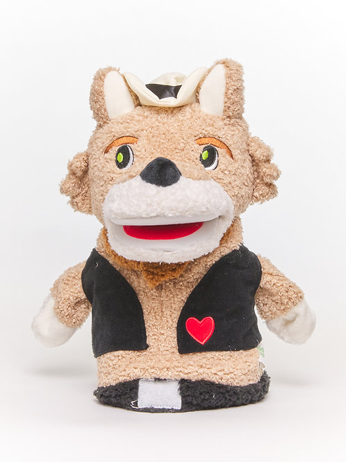 Donnell the Disgusted Dingo™ Puppet