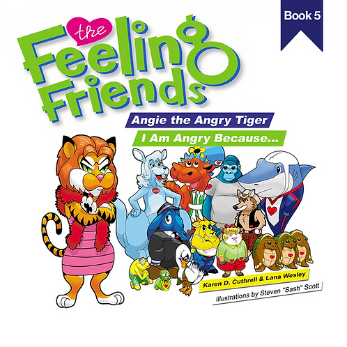 Angie the Angry Tiger Book