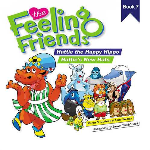 Hattie the Happy Hippo Book