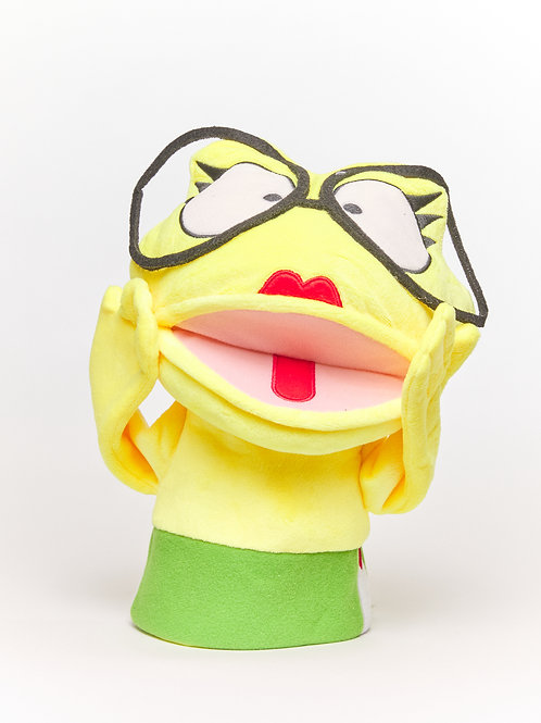 Franny the Fear Frog™ Puppet