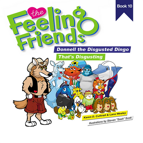 Donnell the Disgusted Dingo Book