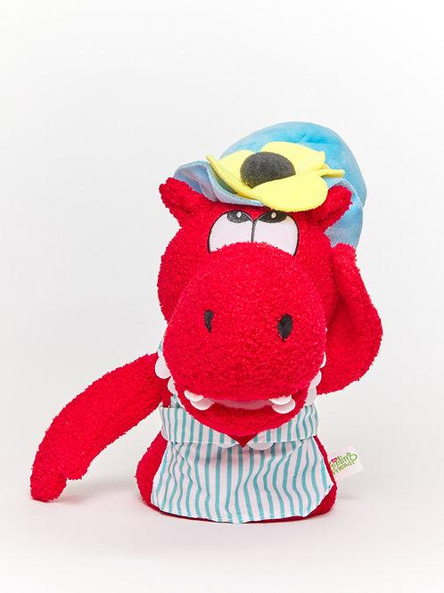 Hattie the Happy Hippo™ Puppet