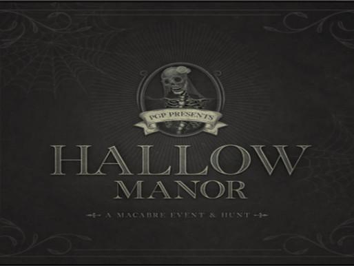 Hallow Manor - October 15, 2021