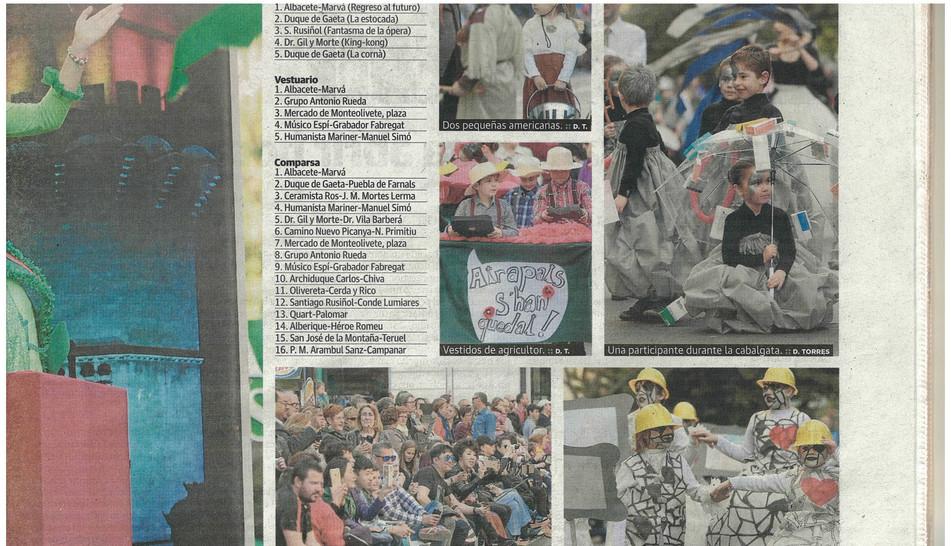 Recorte prensa Cabalgata 2015(2)