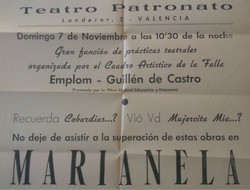Marianela cartel