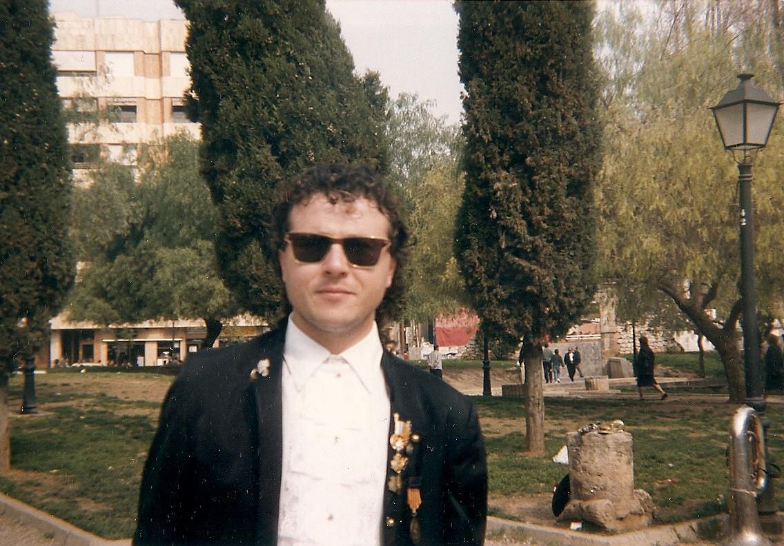Juan Ramón presi más joven En Plom