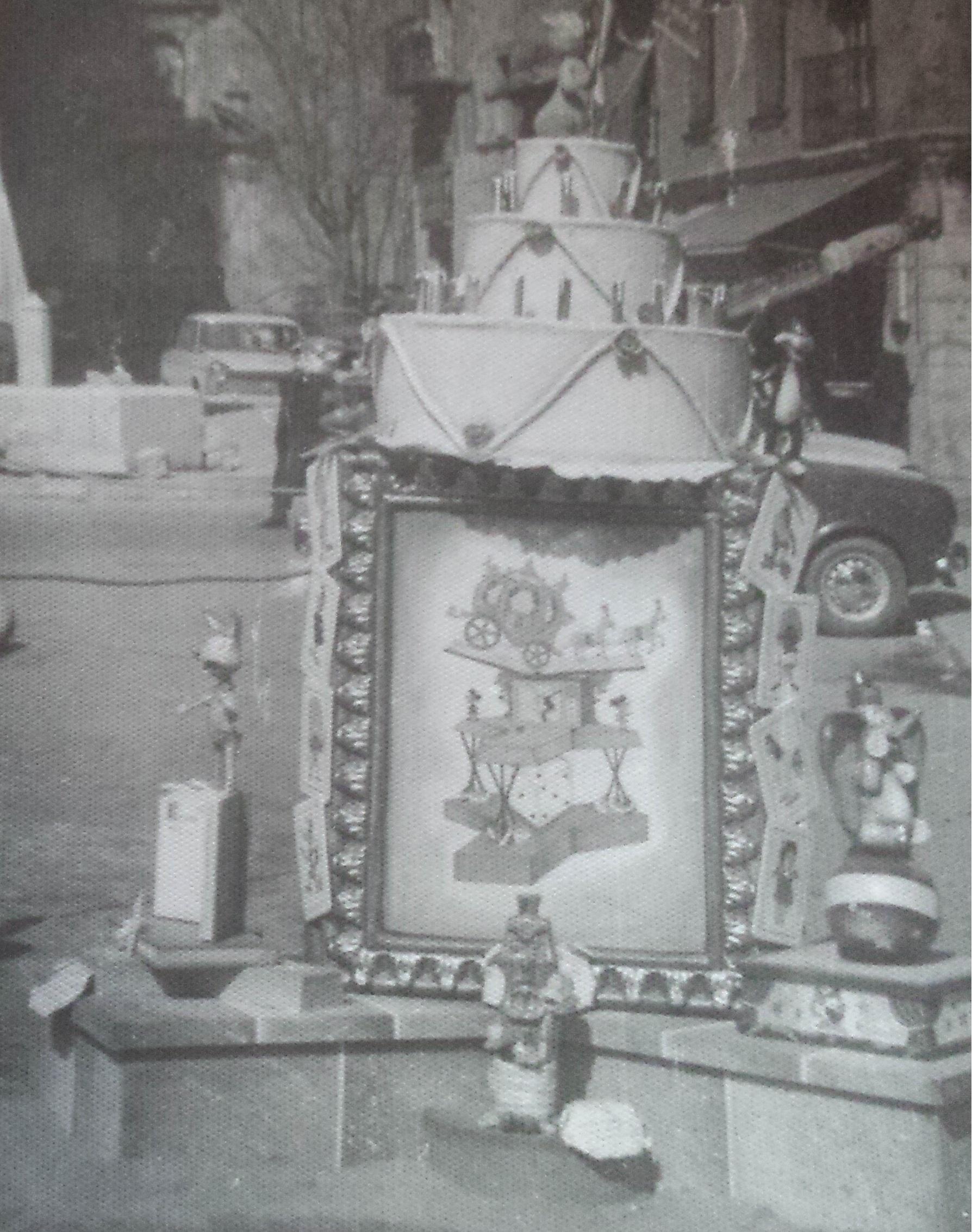 Detalle monumento infantil