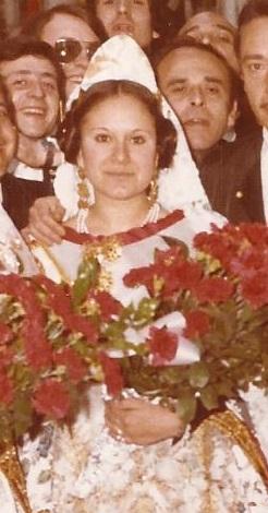 Fallera Mayor 1971
