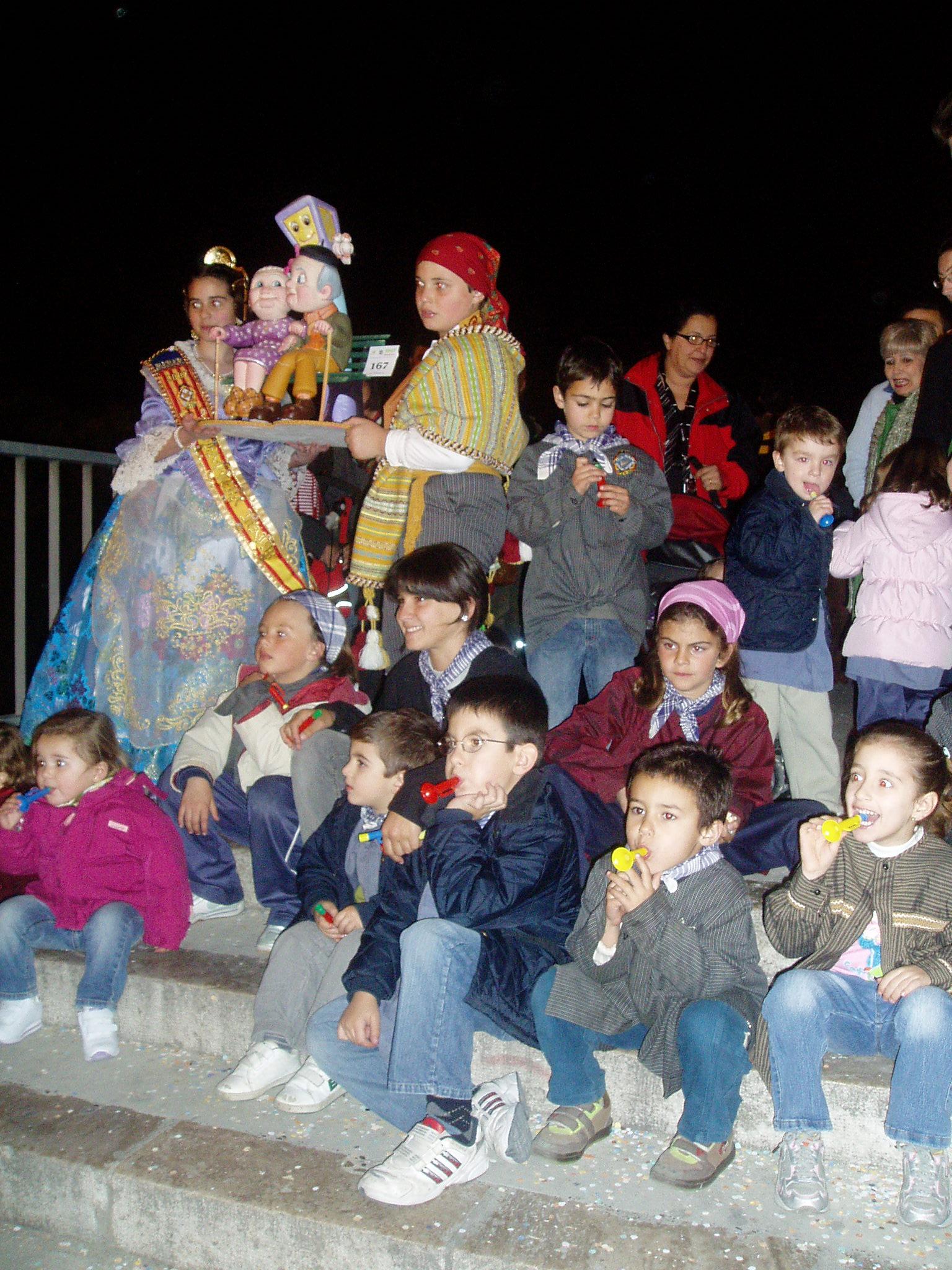 Recogida del Ninot Infantil