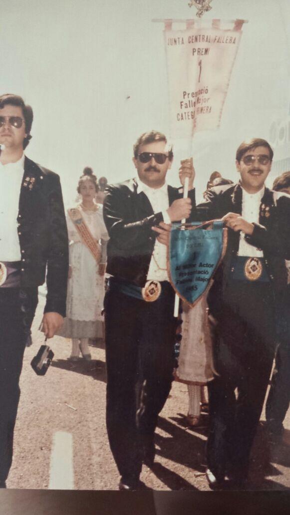 1º Premio presentación 1985