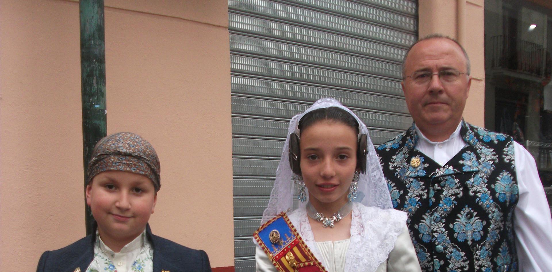 Procesión de la Virgen 2016