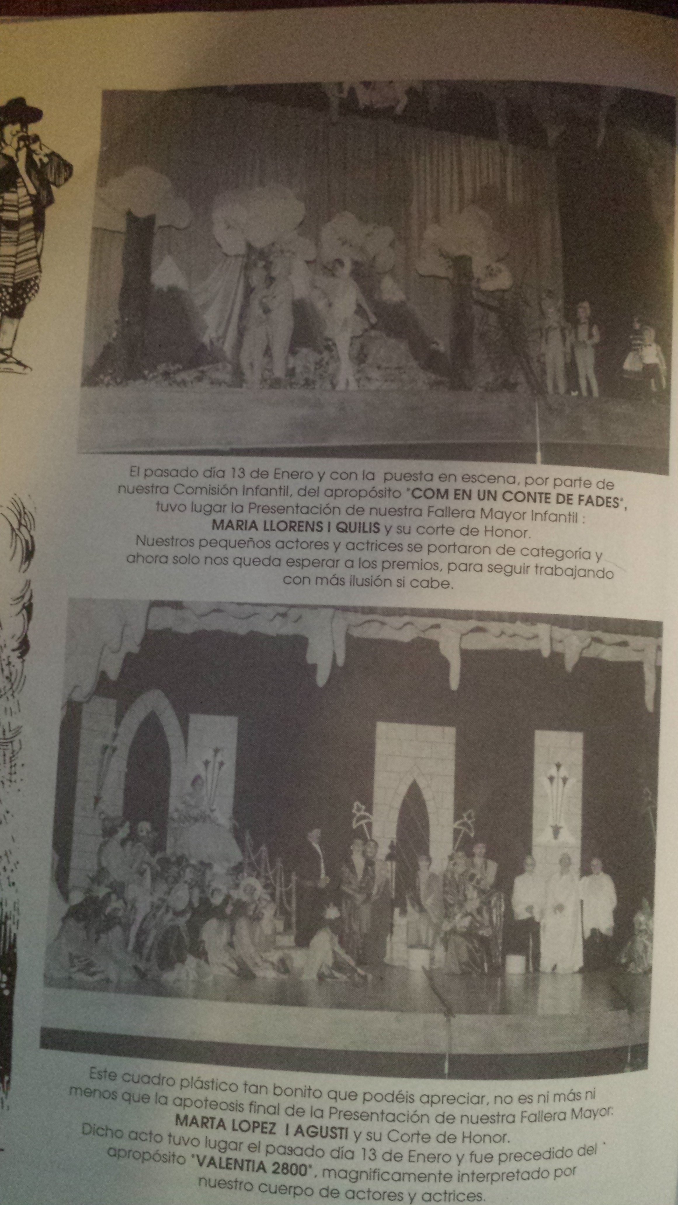 1996 Recorte prensa Presentación