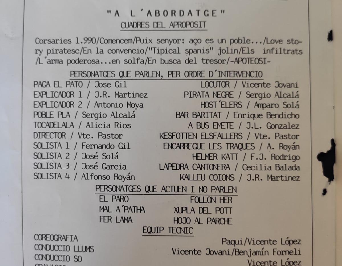 1990 - A L'abordatge de José Meliá Caste