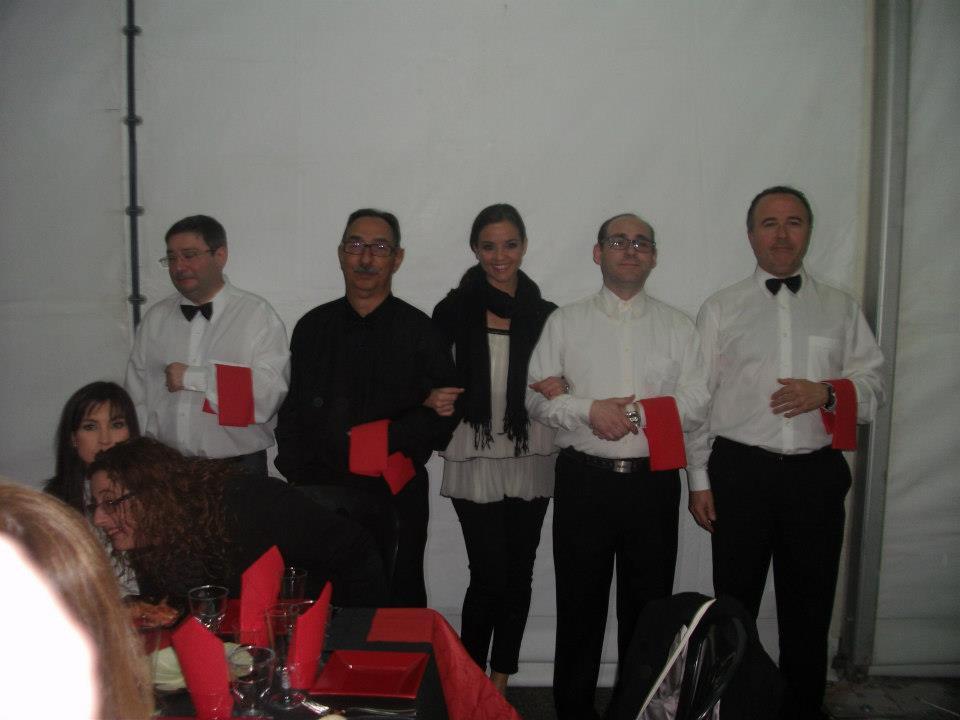 Camareros con FM