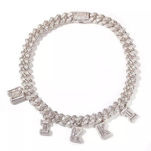 Baguette Cuban necklace