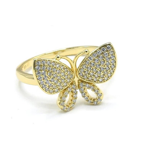 Butterfly Beauty .925 sterling silver ring