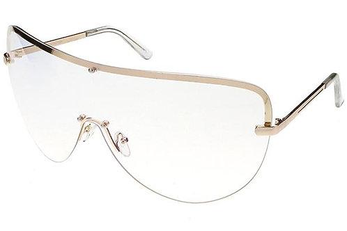 Pam oversized shield glasses