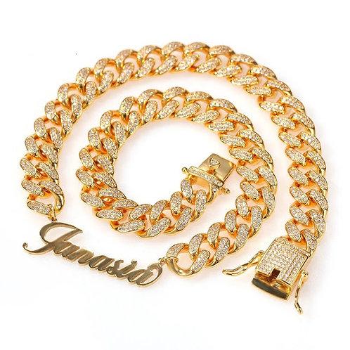 Nylah custom cuban chain