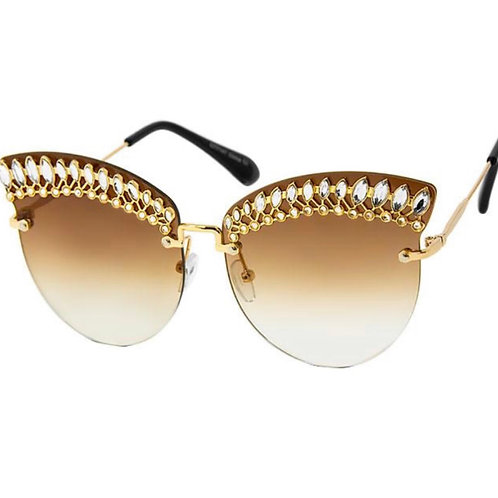 Mia crystal sunglasses