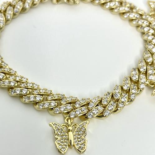 Butterfly kiss bracelet