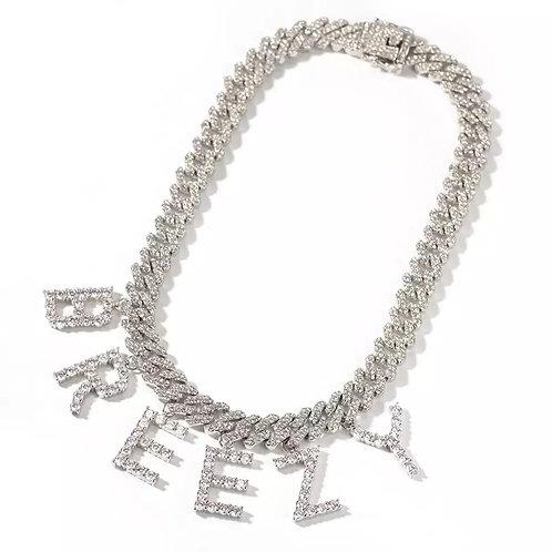 Nilah custom name cuban necklace