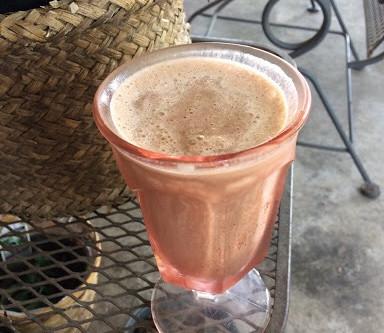 Healthier Chocolate Milkshake