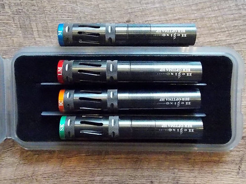 SET OF 4 BRILEY BLACK OXIDE HELIX BERETTA OPTIMA HP CHOKE TUBES