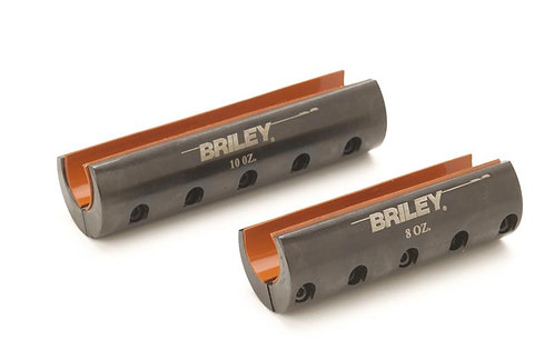 NEW BRILEY CLAMP ON BARREL WEIGHT 12 GAUGE SHOTGUN 6oz 8oz 10oz SKEET SPORTING