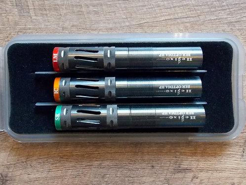 SET OF 3 BRILEY BLACK OXIDE HELIX BERETTA OPTIMA HP CHOKE TUBES