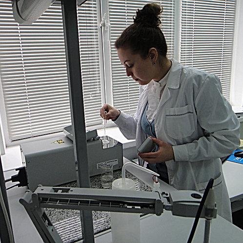 Лабораторные исследования воздуха, воды, почвы, отходов