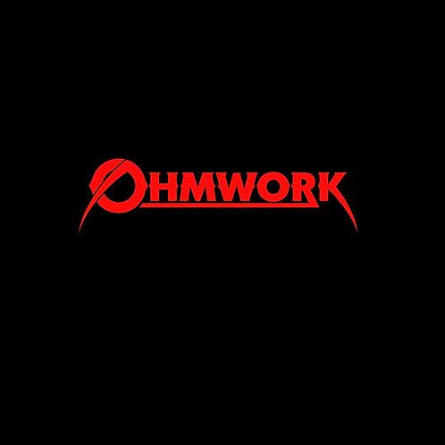 Ohmwork band logo t-shirt