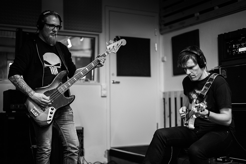 Helge and Anders. Anders. Photo by Kenneth Augdal