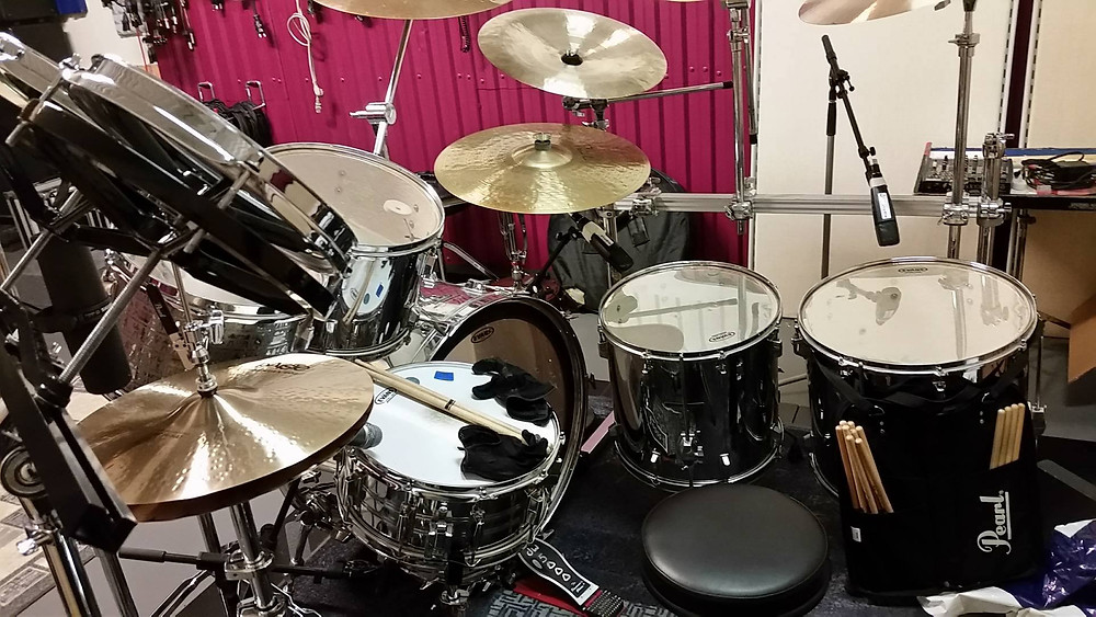 Drums from the Alyssa Drone sessions