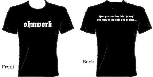 Ohmwork Storm Season t-shirt