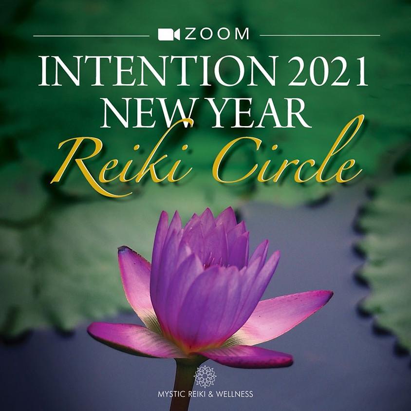 Intention 2021 New Year Reiki Circle