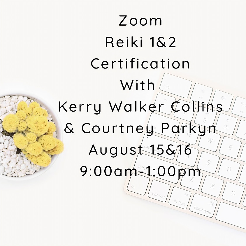 Zoom Reiki 1&2