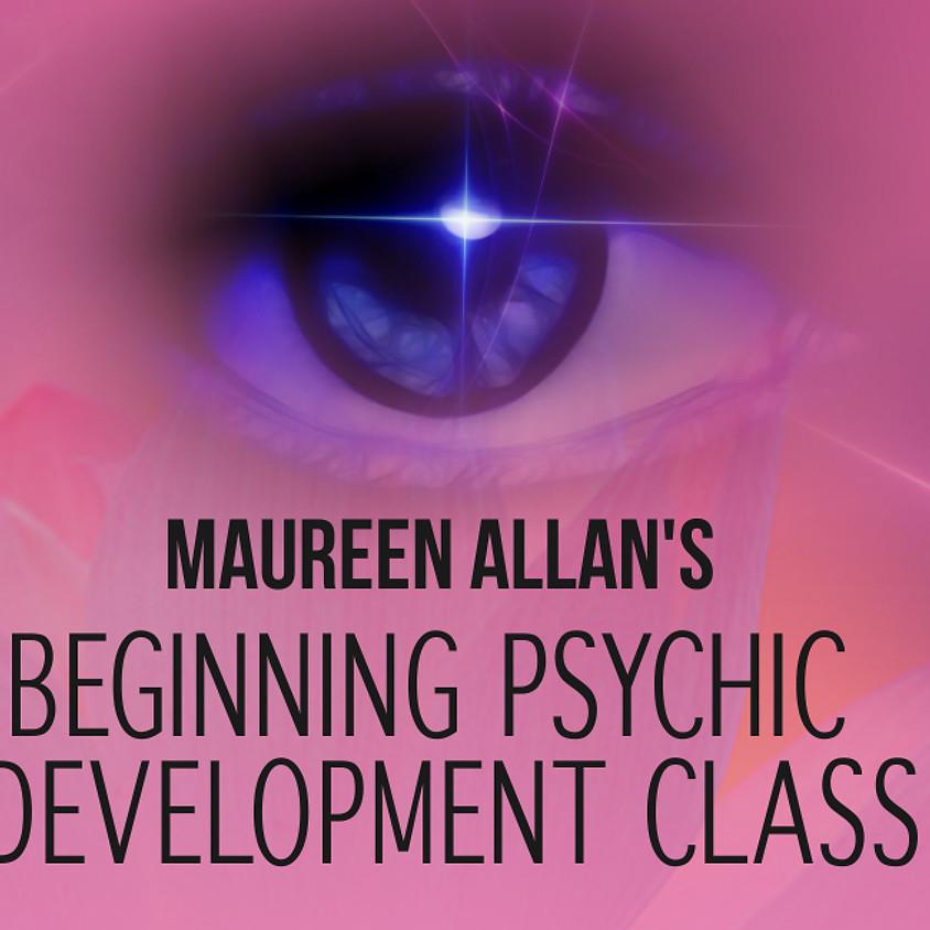 Maureen Allan - Beginning Psychic Development Class