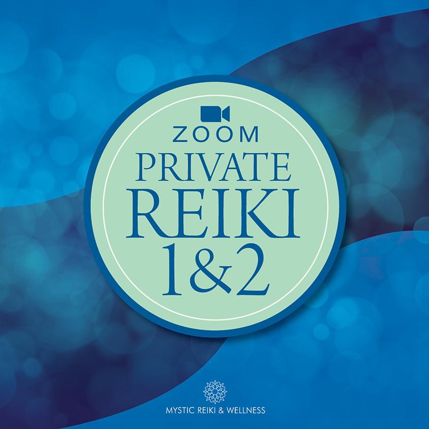 Zoom Reiki 1&2 March