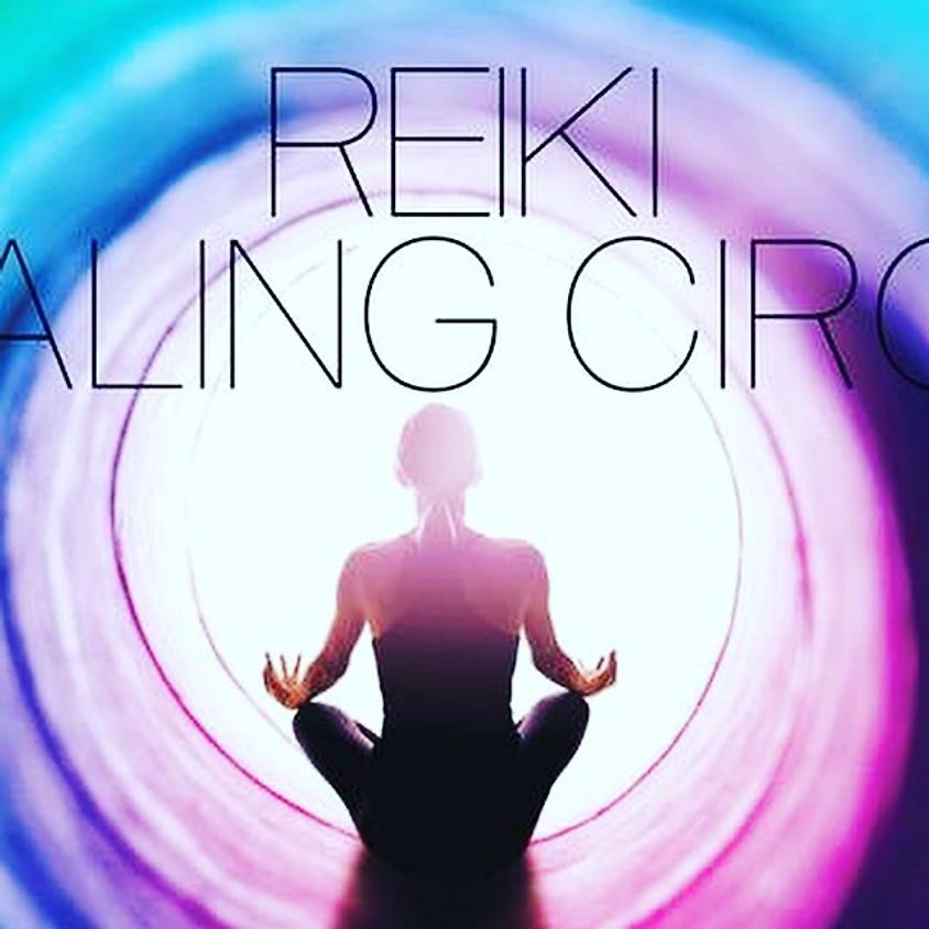 Reiki healing meditation circle