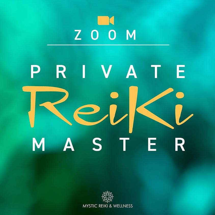 Zoom Private Reiki Master