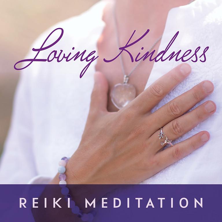 Loving Kindness Reiki Meditation with Jackie