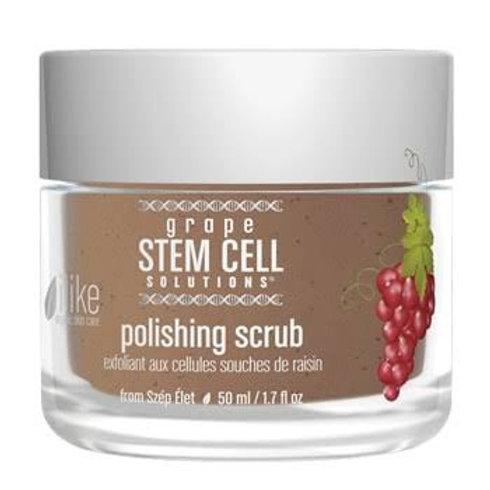 Grape stem cell scrub