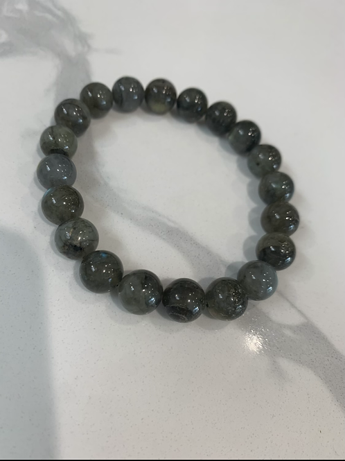 Labradorite bracelet 10mm