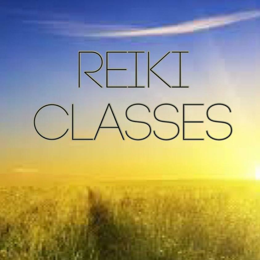 Reiki Certification Class Level 1 & 2