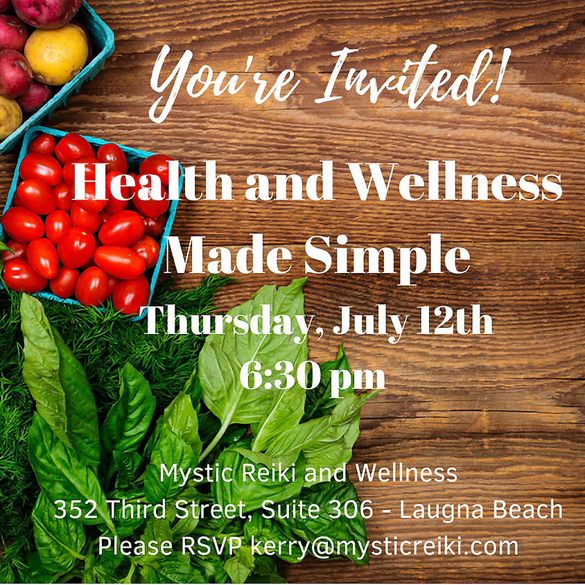 Health and Wellness Made Simple