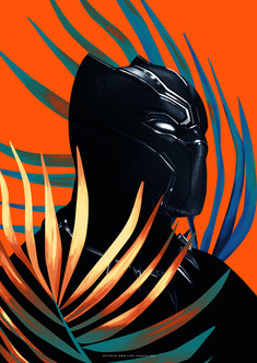 Black Panther by Flore Maquin