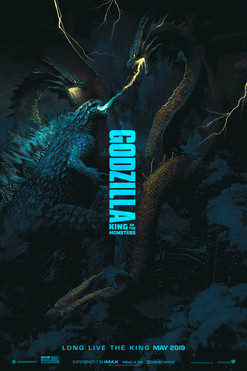 Godzilla: King of the Monsters by Juan Ramos