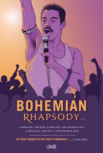 Bohemian Rhapsody by Blake Scott