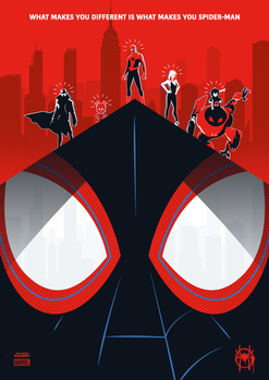 Spider-Man: Into the Spider-Verse by Julien Rico Jr